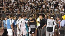 Fanoušci Partizanu Bělehrad