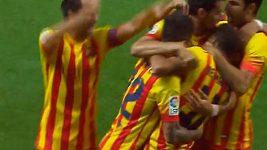 Sestřih úvodního utkání španělského Superpoháru mezi Atlétikem Madrid a Barcelonou.