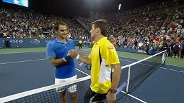 Roger Federer končí na US Open