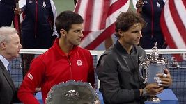 Finále US Open Nadal - Djokovič
