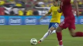 Gól Neymara proti Portugalsku