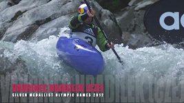 Vavřinec Hradilek při loňském ročníku mistrovství světa v extrémní jízdě na kajaku.Vavrinec Hradilek