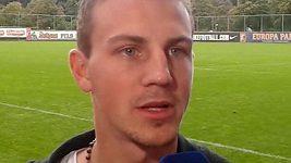 Záložník Freiburgu Vladimír Darida před utkáním s Libercem.