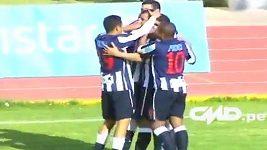 Gól Maura Guevgeoziána v peruánské lize