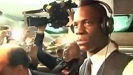 Mario Balotelli odstrčil kameramana