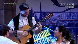 Sergio Ramos jako zpěvák.