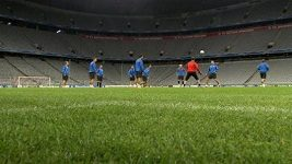 Fotbalisté Plzně se chystají na zápas proti Bayernu Mnichov