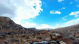 Kelly McGarry na Red Bull Rampage