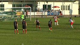 Zpackaná penalta v nižší rakouské soutěži