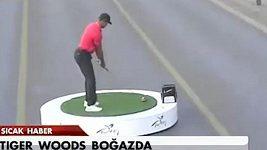 Woodsův odpal z Evropy do Asie