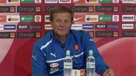 Slovenské trenéra Kozáka vytočil redaktor
