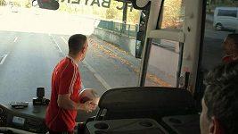 Trik s míčem v podání fotbalistů Bayernu Mnichov.