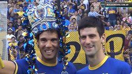 Nadal a Djokovič v penaltovém souboji