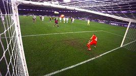 Ibrahimovicova penalta á la Panenka