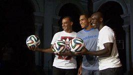 Oficiální míč pro MS ve fotbale v Brazílii
