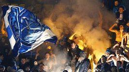 Řádění fanoušků Petrohradu ve Vídni