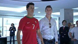Ronaldo na otevření svého muzea