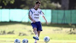 Messi kouzlí i na tréninku