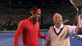 Tenisové legendy na kurtu