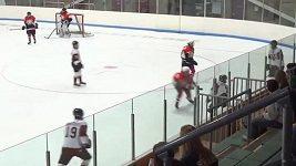 Hokejista chtěl ztrestat protihráče, místo toho sám sebe skolil.