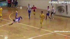 Nádherný gól ve futsalu