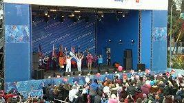 Olympijská pochodeň dorazila do Soči