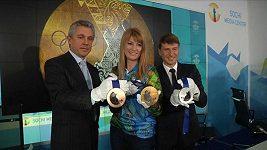 Olympijské medaile už jsou připraveny v Soči