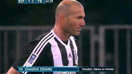 Zinedine Zidane v exhibičním utkání