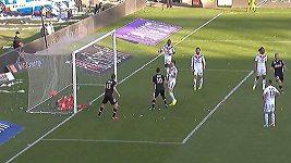 Sestřih gólů Monaka na hřišti Lyonu.
