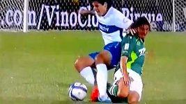 Zlomený kotník v chilské lize