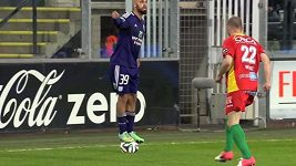 Parádička fotbalisty Anderlechtu.