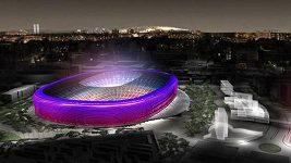 Vizualizace nového stadiónu Barcelony Camp Nou