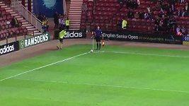 Výstavní gól Emyra Huwse
