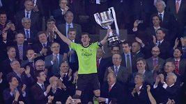 Finále Španělského poháru Barcelona - Real Madrid