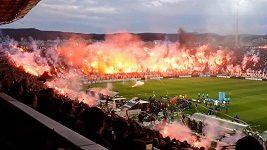 Ohnivé peklo při semifinále Řeckého poháru