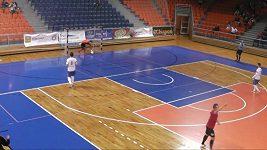 Futsalový brankář dal gól přes celé hřiště
