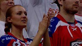 Atmosféra při utkání Lev - Magnitogorsk