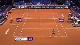 Ruska Klejbanovová porazila na antuce ve Stuttgartu Petru Kvitovou