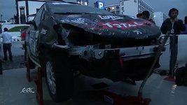 Karambol Jana Černého při Rallye Azory