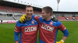 Podívejte se, jak brankář Marek Štěch strávil svůj první den v národního týmu