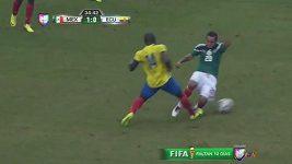 Zranění Mexičana Montese