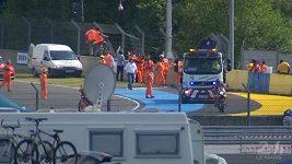 Loic Duval těžce havaroval v Le Mans