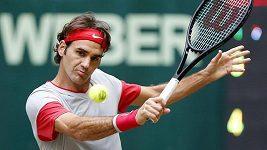 Roztržitý Roger Federer