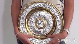 Petra Kvitová a trenér Kotyza o vítězství ve Wimbledonu