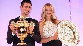 Petra Kvitová hovoří o slavnostním banketu pro vítěze Wimbledonu