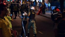 Pouliční nepokoje v Brazílii po debaklu s Německem.
