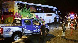 Návrat německé fotbalové reprezentace po semifinálové výhře nad Brazílií