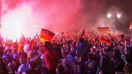 Fanoušci Německa sledují v Berlíně finále proti Argentině