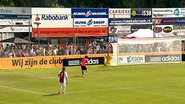Kuriózní gól fotbalistů Realu Sociedad.