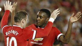 Sestřih gólů z utkání Los Anegles Galaxy - Manchester United